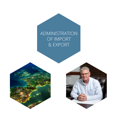 Administration of diamond export and import